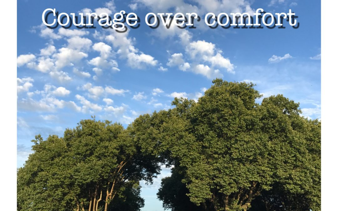 30 Days of Bald – Courage over Comfort